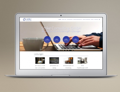 Strike Consulting Business Homepage