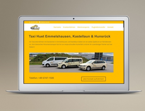 Taxi Landingpage – Funkmietwagen One Page