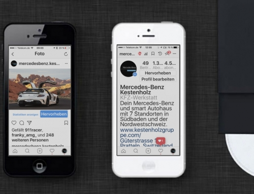 Mercedes-Benz Kestenholz Instagram Marketing
