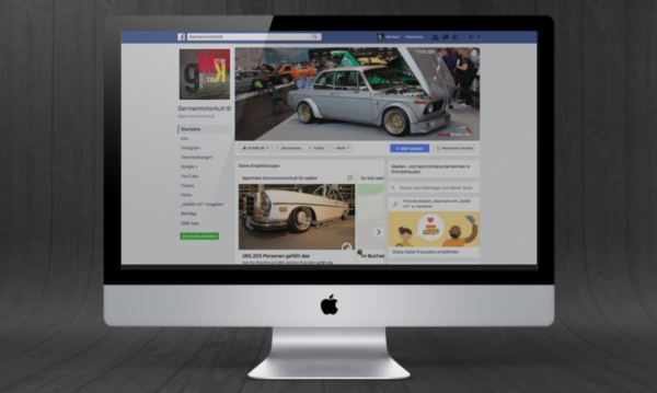 GermanMotorKult Facebook Marketing