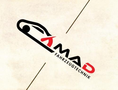 MAD Fahrzeugtechnik Online Shop Logo Design