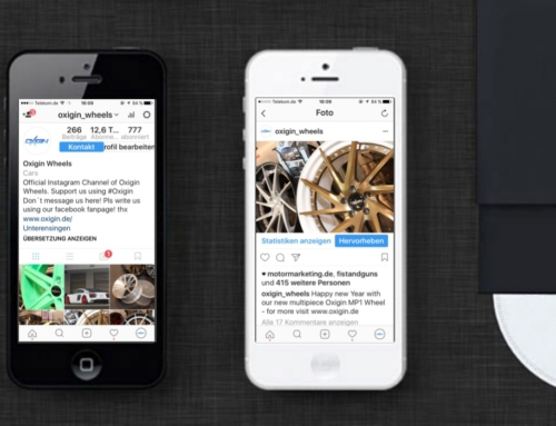Oxigin Wheels Hersteller Instagram Marketing