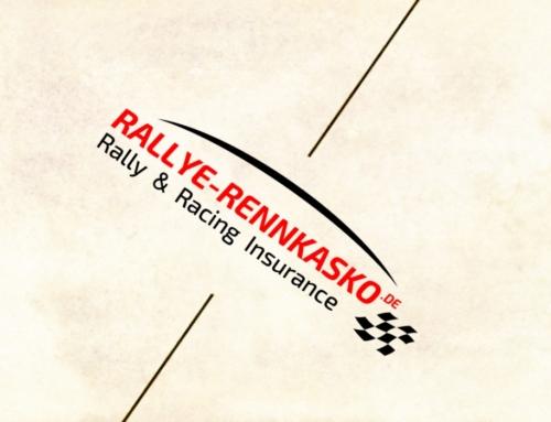 Rallye Rennkasko Logo Design