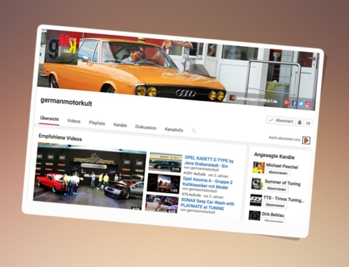 GermanMotorKult Blog Magazin Youtube Videos