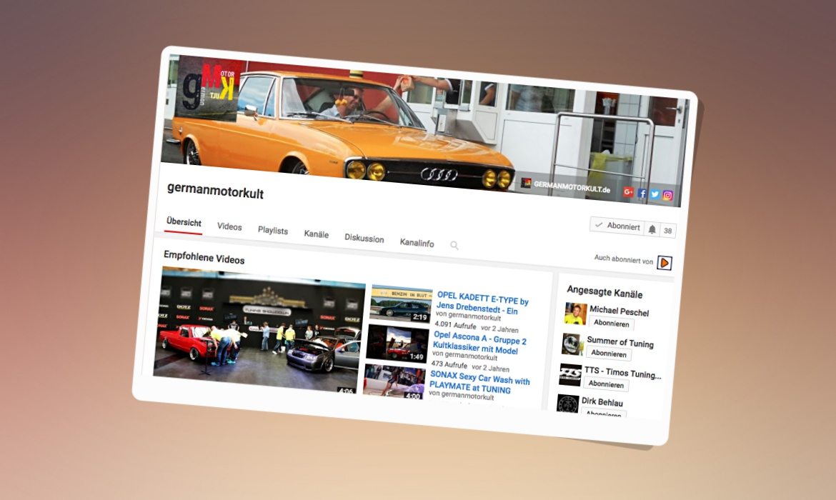 GermanMotorKult Video Marketing