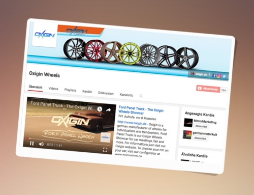 Oxigin Wheels Youtube Video Marketing