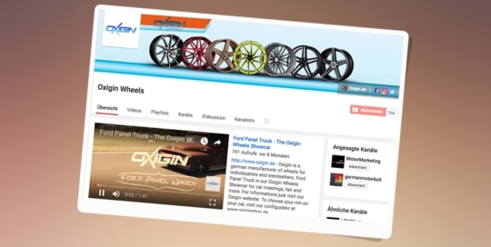 Youtube Oxigin Wheels Auto Felgen
