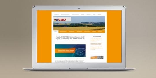 CDU Emmelshausen Homepage