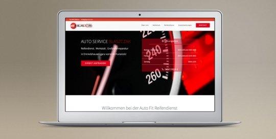 KFZ Werkstatt Homepage