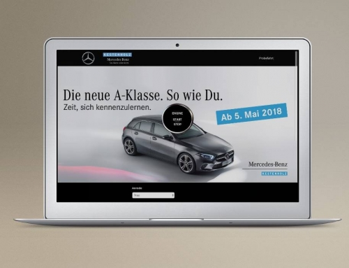 Mercedes-Benz A-Klasse | Leadpage