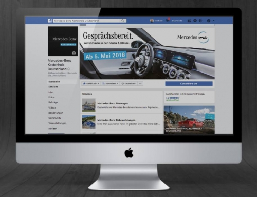 Mercedes-Benz Kestenholz Facebook Marketing