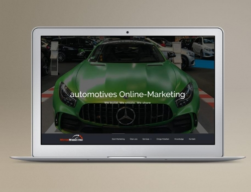 MotorMarketing Agentur Homepage