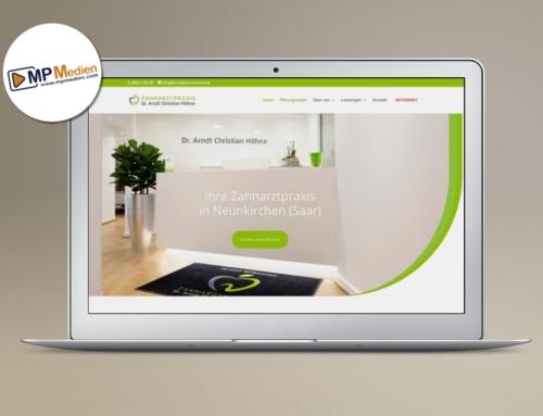 Zahnarztpraxis Homepage DSGVO-Konform